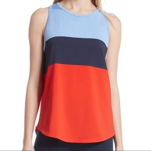 EUC! Tory Sport Colorblock Performance Tank